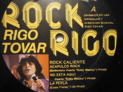 Rigo Tovar Rock Rigo L.p Single | Mercado Libre
