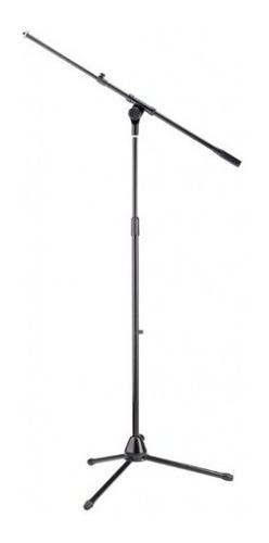 Soporte De Microfono Stagg Mis-1024 Metalico Jirafa Y Recto