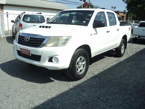 Toyota Hilux Diesel 4x4 Año 2012 ( Valor Con Iva Incluido )