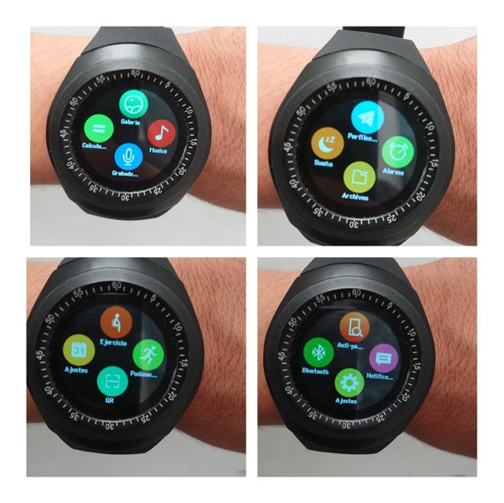 Reloj Smart Watch Negro
