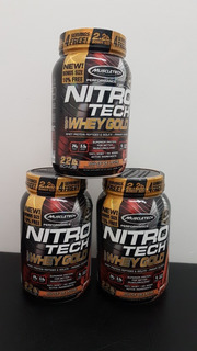 Whey Protein Nitrotech Gold Muscletech