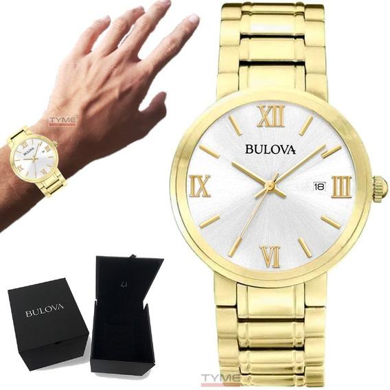 Relógio Bulova Masculino Classic Wb26146h 97b158 Nota Fiscal