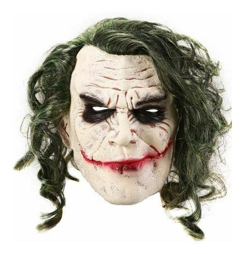 Mascaras Guason Delux Joker Cosplay Latex Halloween Disfraz