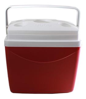 Caixa Térmica Smart 32 Litros Cooler Vermelha 45423 - Obba