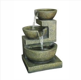 Fuente De Agua En Poliresina Tasas Rectas