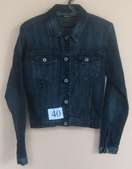 Jaqueta Jeans Republic - Tam P Fem - (cod. J40)