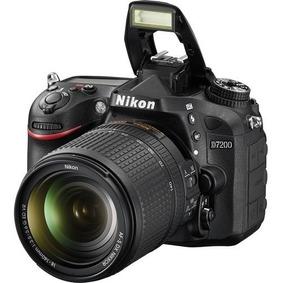 Nikon D7200 + 18-140mm F/3.5-5.6g Ed Vr - Loja Platinum