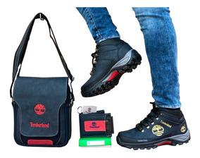 Zapatos Hombre + Bolso + Billetera, Timberlad+ Obsequio