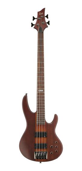 Bajo 4 Cuerdas Ltd By Esp Ld4 Ns Hh Mango Entero Electrico