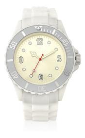 Relógio Nowa Feminino Branco Nw0520bk Borracha Original