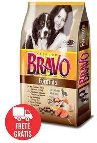 Bravo Formula 20kg Premium Raçao C/ 28% De Proteína