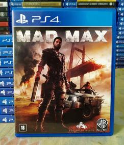 Mad Max Ps4 - Jogo Mídia Física Original Em Português