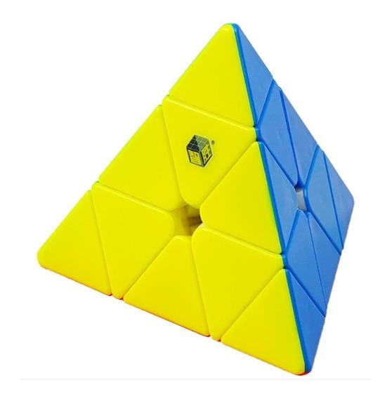 Cubo Yuxin Piraminx 3x3x3 Little Magic Stickerless
