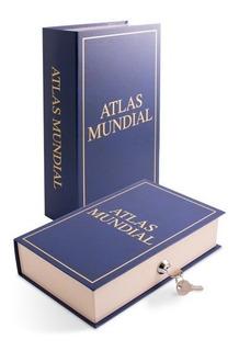 Cofre Portavalores Dinero Libro Camuflado Lipari Atlas