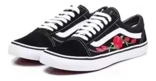 Tênis Vans Old Skool Floral Top Feminino O Queridinho