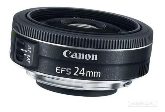 Lente Canon Ef-s 24mm F/ 2.8 Stm Original