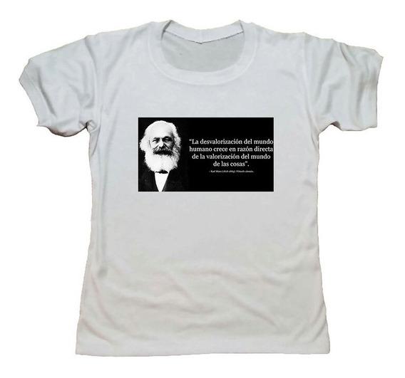 Remera Karl Marx Coleccion Filosofia Hotarucolections