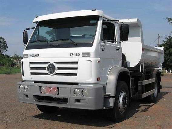 Vw 17.180 Worker Caçamba 2010