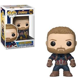 Funko Pop Captain America 288 Marvel - Infinity War Original