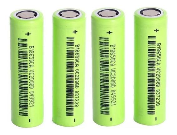10 Bateria De Lítio 1800 Mah Recarregável