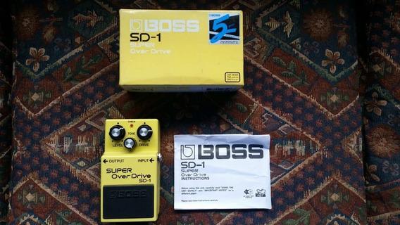 Pedal De Guitarra Boss Sd-1 Super Overdrive