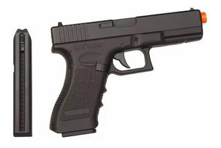 Pistola Airsoft Elétrica Cm030s Glock 6mm Mosfet + Bat Lipo