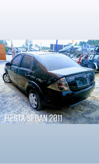 Sucata Ford Fiesta Sedan 2011 Veículo Para Retirada De Peças