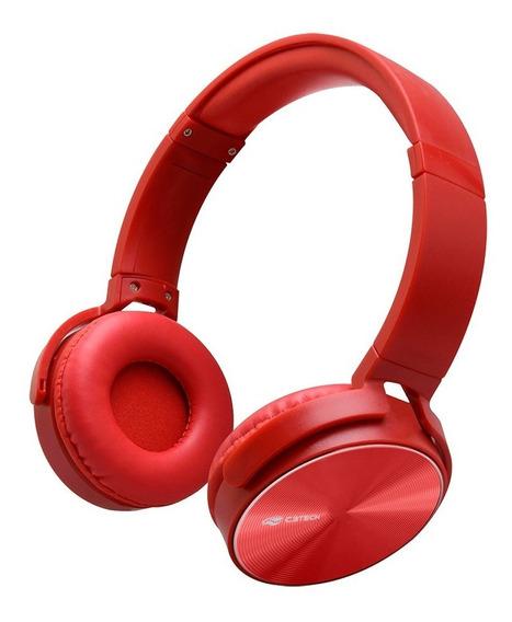 Headset P2 Ph-110rd Vermelho C3tech