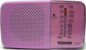 Rádio Portátil Toshiba Pr20s Am/fm - Envio Imediato