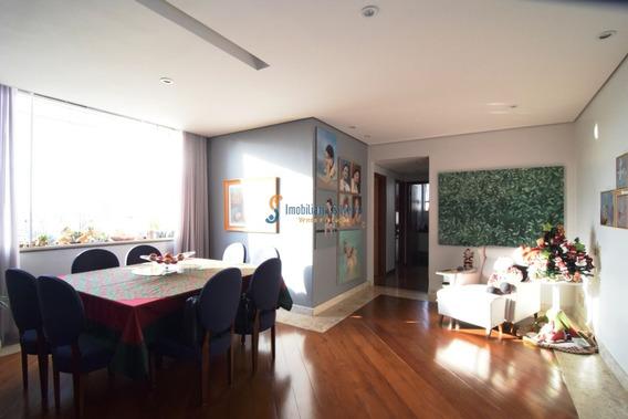 Apartamento 4 Quartos, 2 Vagas, Um Por Andar Com Elevador E Área De Lazer, No Bairro São Pedro, Belo Horizonte. - 5940
