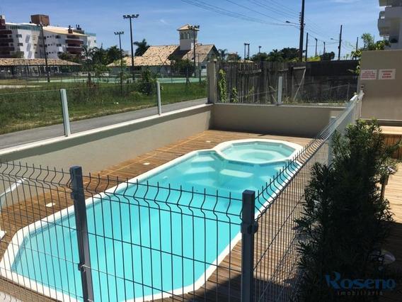 Apartamento Novo Na Praia De Palmas, Governador Celso Ramos,