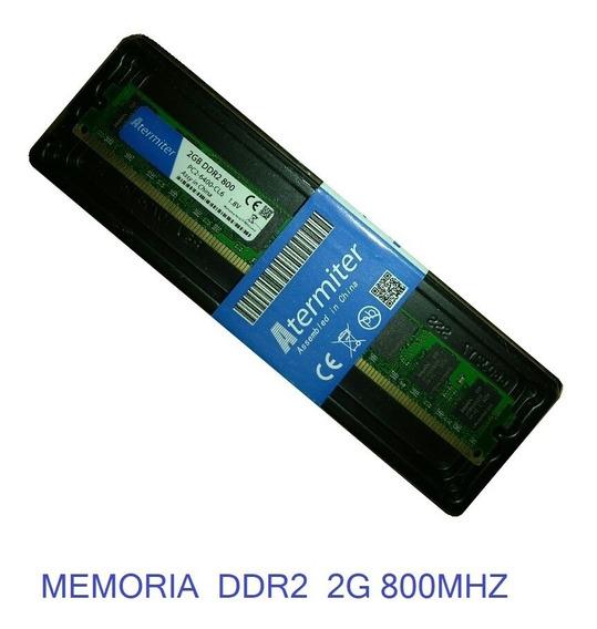 Memoria Atermiter Ddr2 2g 800mhz P/ Amd E Intel