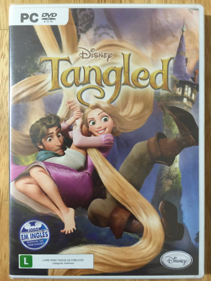 Jogo Pc Dvd Disney - Tangled Enrolados (2010) Novo Lacrado!!