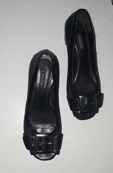 Sapato Preto Anne Arezzo 34