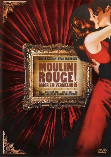 Dvd Duplo  Moulin Rouge  Amor Em Vermelho  Nicole Kidman