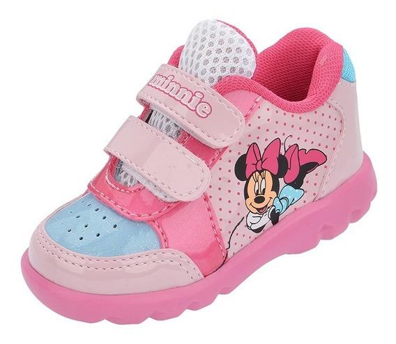 Tênis Bebê Infantil Minnie 18 Ao 24 Personagem Disney Barato