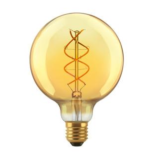 Lámpara Led Globo Filamento E27 5w Golden Cálida - Macroled