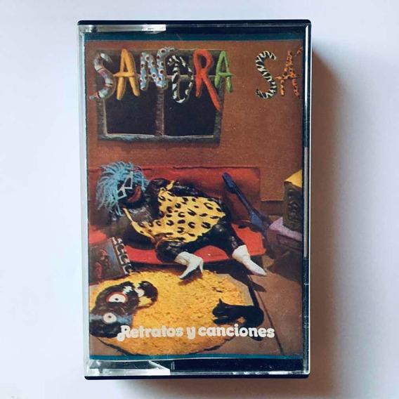 Sandra Sa - Retratos Y Canciones Cassette Nuevo
