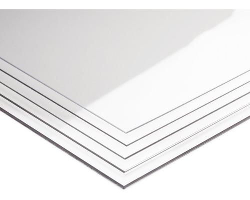 Lamina De Acrílico Transparente Medida 20 X 15 Cm En 3 Mm