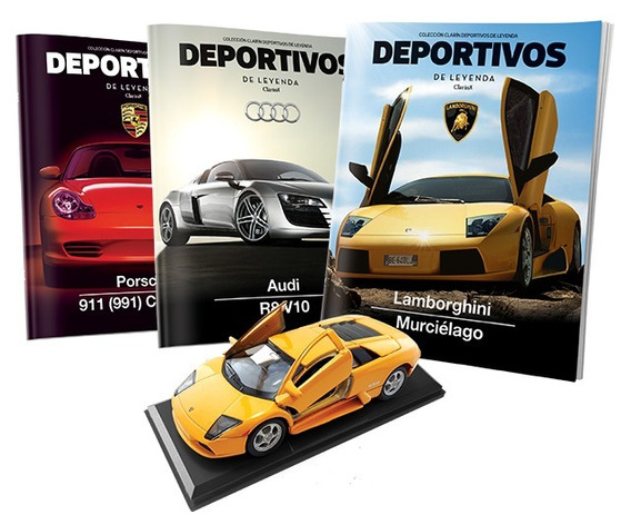 Coleccion Autos Deportivos De Leyenda Varias Entregas