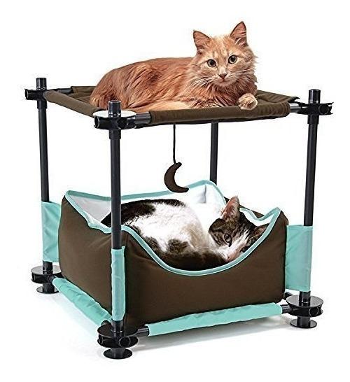 Cama De Mobiliario Modular Para Gatos