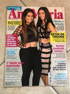 Revista Ana Maria 1041 Simone E Simaria Domingos Montagner