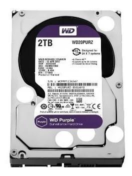 Hd 2tb Sata Iii Western Digital Purple Surveillance Wd20purz