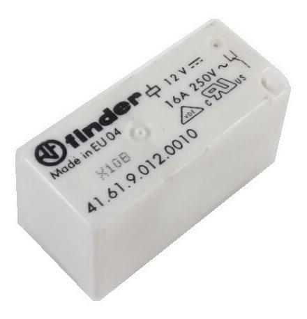 Rele Finder 16a 12vcc Cod. 41.61.9.012.0010 16pçs
