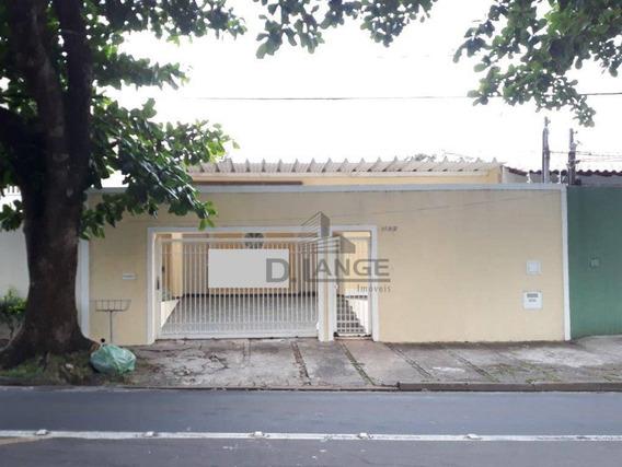 Casa Com 3 Dormitórios Para Alugar, 133 M² Por R$ 2.500,00/mês - Chácara Da Barra - Campinas/sp - Ca13665