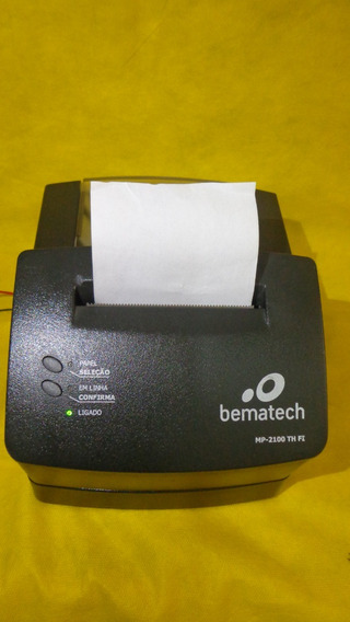 Impressora Bematech Fiscal Mp-2100 Th Fi - Ler Anúncio