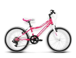 Bicicleta Kross Rica 20 Rosado/blanco