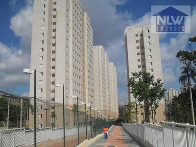 Apartamento Residencial À Venda, Campo Limpo, São Paulo. - Ap0087