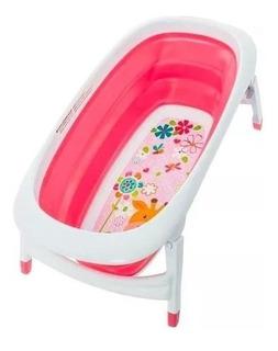 Tina Bañera Para Bebés Plegable Diseños Y Colores + Envio