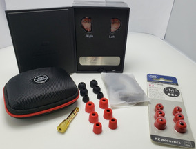Kz As10 - 10 Drive Hibrido + Kit Memoria + Estojo + P2 P10